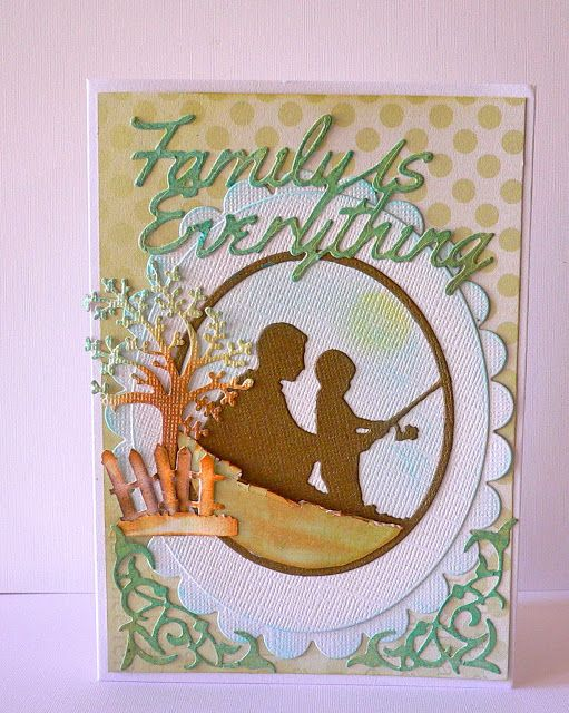 Couture Creations: Father & Son Cards by Adrian Bolzon…