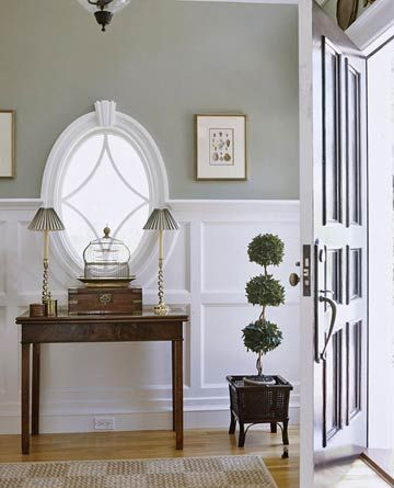Classic Oval Window...would place it higher on the wall