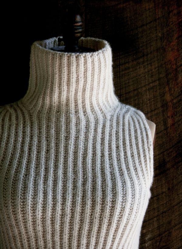 Brioche Vest | Purl Soho - Create
