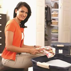 Where to donate items like electronics, towels, appliances and trophies. Clear that #clutter. From Rubbermaid and professional organizer Janine Adams