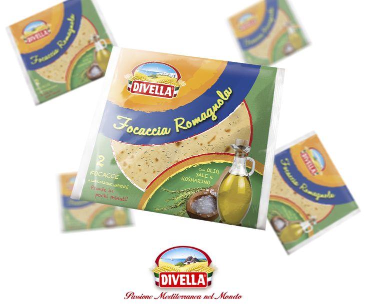 Novità in casa Divella: la Focaccia Romagnola, soffice e gustosa, ideale come antipasto o spuntino. Scopri il prodotto qui: https://goo.gl/Jjhtfy