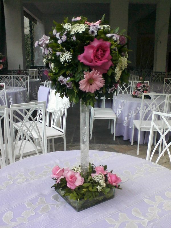 Centros De Mesa Con Flores Naturales Para Primera Comunion Flower Centerpieces Wedding Table Centres Fake Flower Arrangements