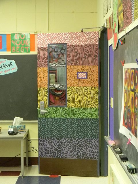 Art Room Design Ideas Part - 45: Love This Door- Think My Maintenance Would Kill Me!