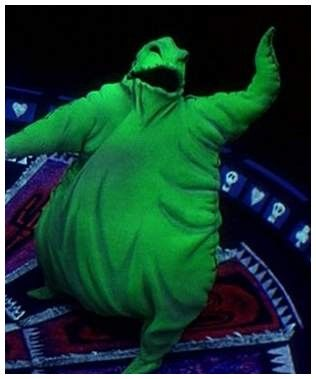 You're Joking!  Your Joking!  The scourge of Halloween Town.  The Boogeyman.  Oogie Boogie.