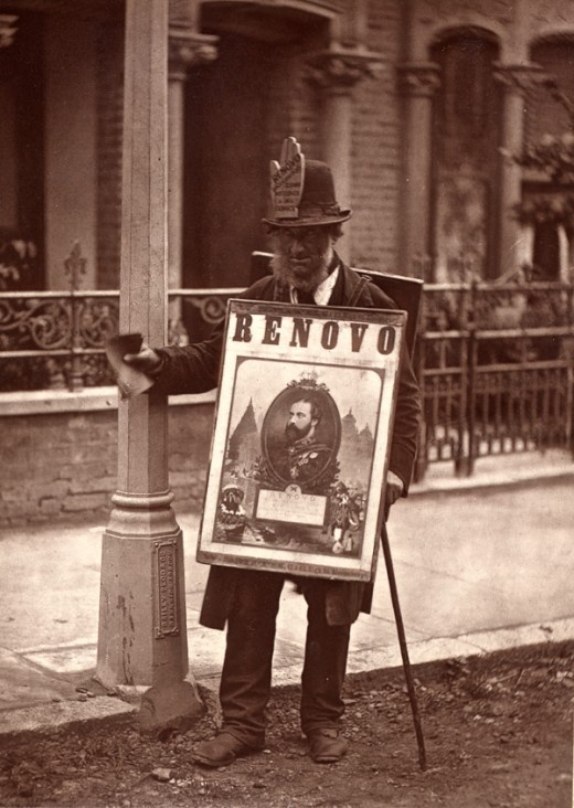 Street Life In London - Amazing vintage photography from London in 1876. Enjoy :)