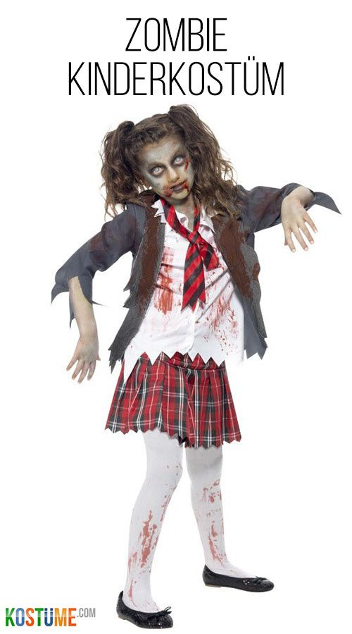 246ea14c1cb Zombie Kostüm für Kinder passend zu Halloween