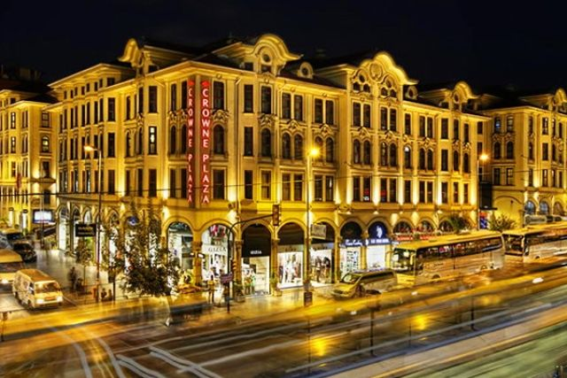 Enjoy 3 Night accommodation in 4 star Crowne Plaza Hotel, in Istanbul.  Avail #deals from http://bit.ly/1rkgqli  #TravelDeals #DubaiDeals