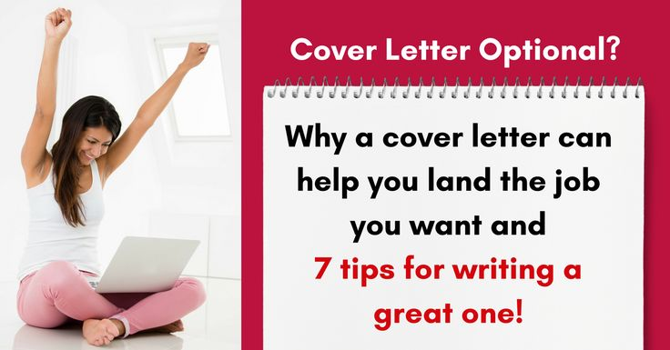 Cover Letter Optional? Including a Good One Can Give You a Big Advantage via @https://www.pinterest.com/ratracerebellio/