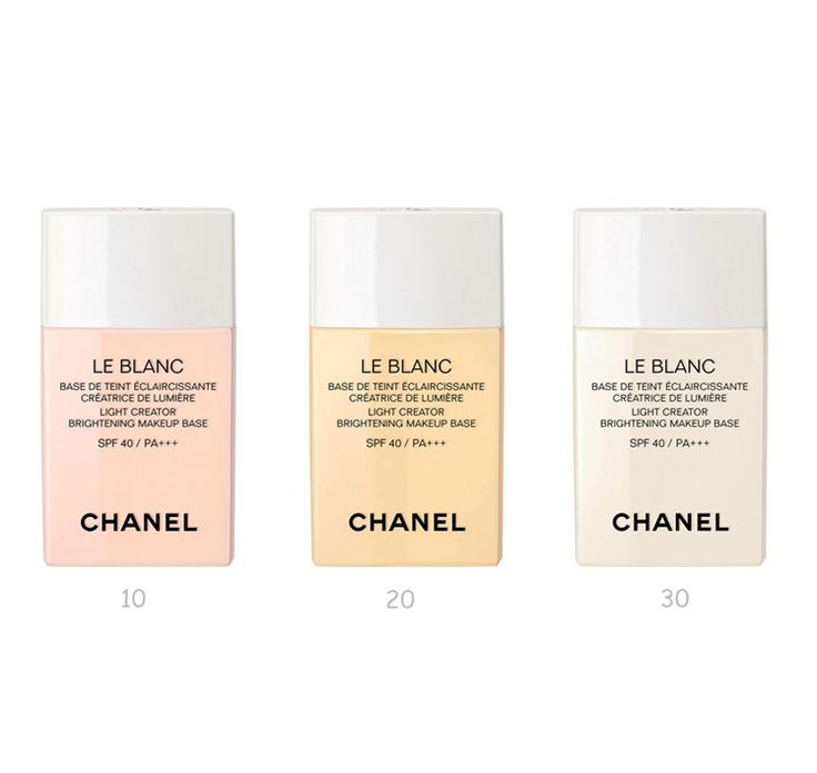 www.BonBonCosmetics.com - CHANEL LE BLANC Light Creator Brightening Makeup Base SPF40/ PA ~ new for Spring 2015, $67.99 (http://www.bonboncosmetics.com/products.php?product=CHANEL-LE-BLANC-Light-Creator-Brightening-Makeup-Base-SPF40{47}-PA%2b%2b%2b-~-new-for-Spring-2015/):