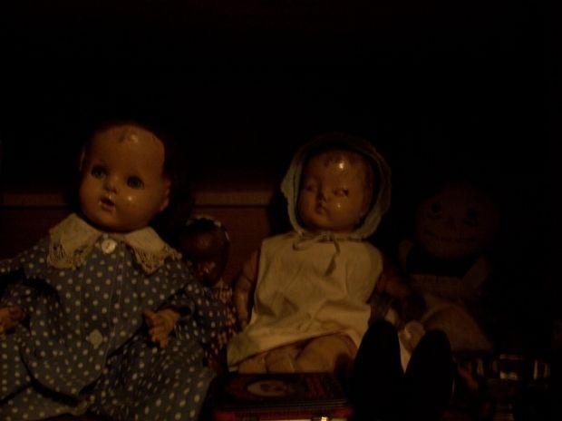 My mother's creepy dolls.