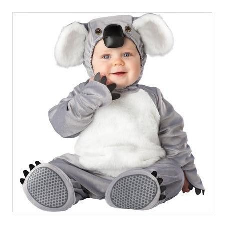 este tierno disfraz de koala seguramente ser un xito en tu fiesta de halloween bebe baby. Black Bedroom Furniture Sets. Home Design Ideas
