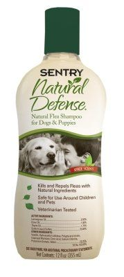 SENTRY NATURAL DEFENSE DOG SHAMPOO 12 OZ Ctg DOG PRODUCTS  DOG FLEA SHAMPOOS -- Check out the image by visiting the link.