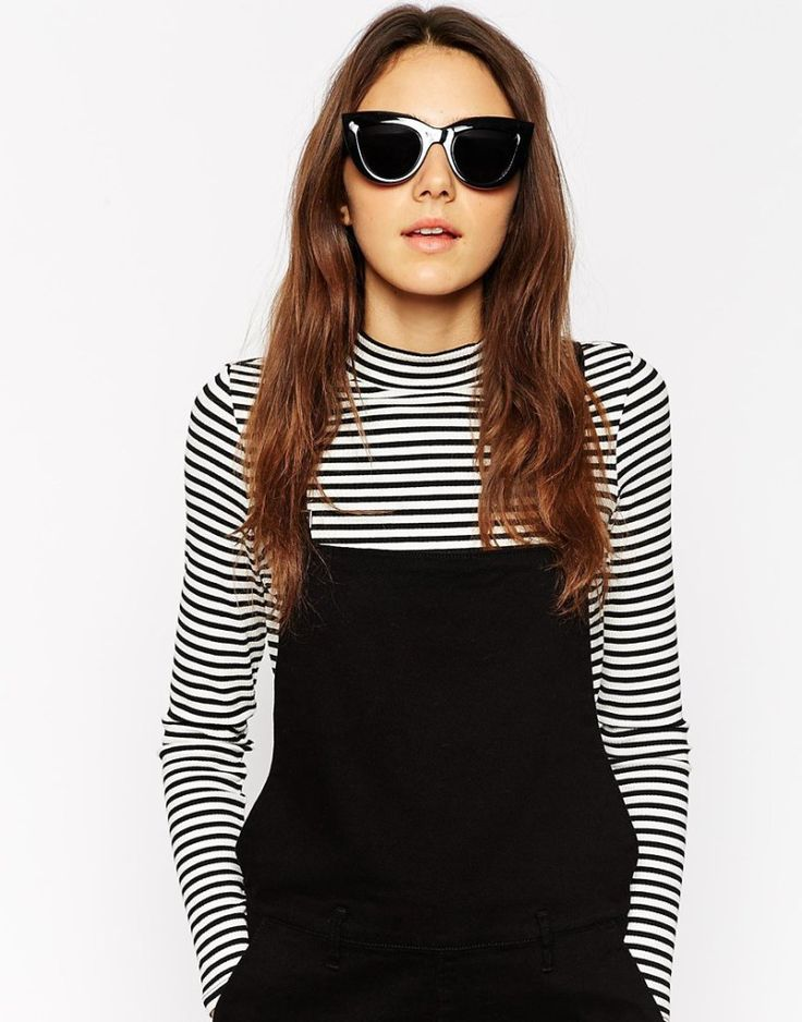 Flat top cat eye sunglasses, ASOS, $15. Buy it here: http://justbestylish.com/10-best-sunglasses-you-shouldnt-miss/3/