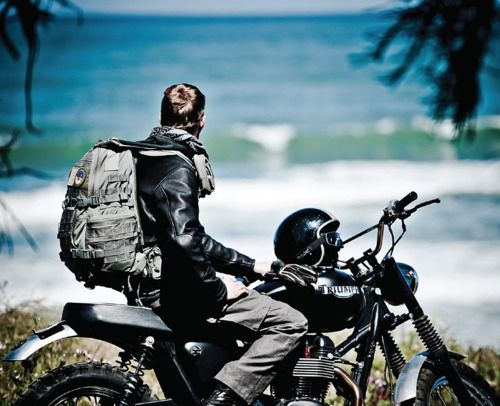 To motorcycle from sea to shining sea, and maybe from Canada to the tip of South America???