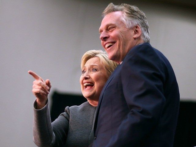 Gov. Terry McAuliffe has illegally granted voting rights to 60,000 convicted felons in the key swing state of Virginia, a