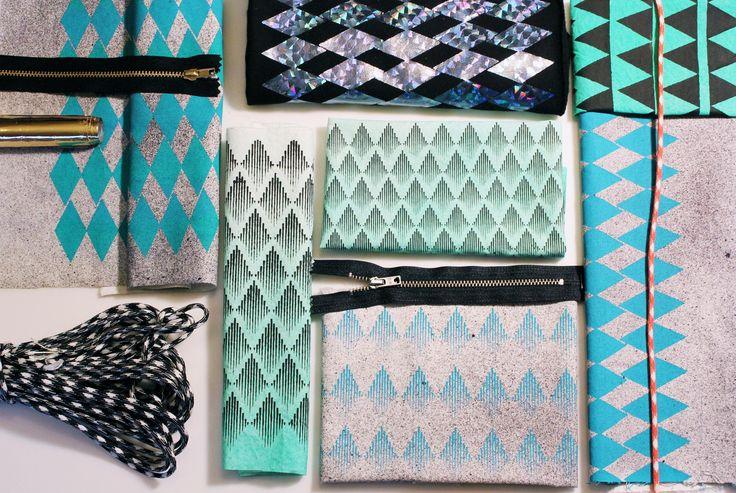 textile printdesign, www.andenogmanden.dk