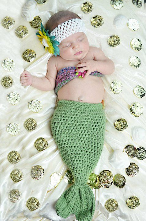 free crochet baby mermaid outfit | It's the final day of the Giveaway!