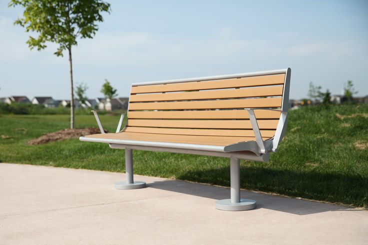CAB-870 is an ideal bench for bus shelters or outdoor parks. With it's sturdy backrest, it is perfect to rest on.