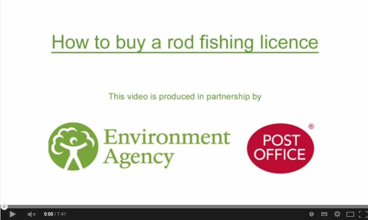 Buy a Rod License uk - A handy video and reminder from theEnvironment Agencyfor those of us who need a little help in how to buy a rod licence uk online.  ... Check more at http://carpfishinglakes.com/buy-rod-license/