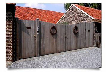 poort landelijk hout - Google zoeken