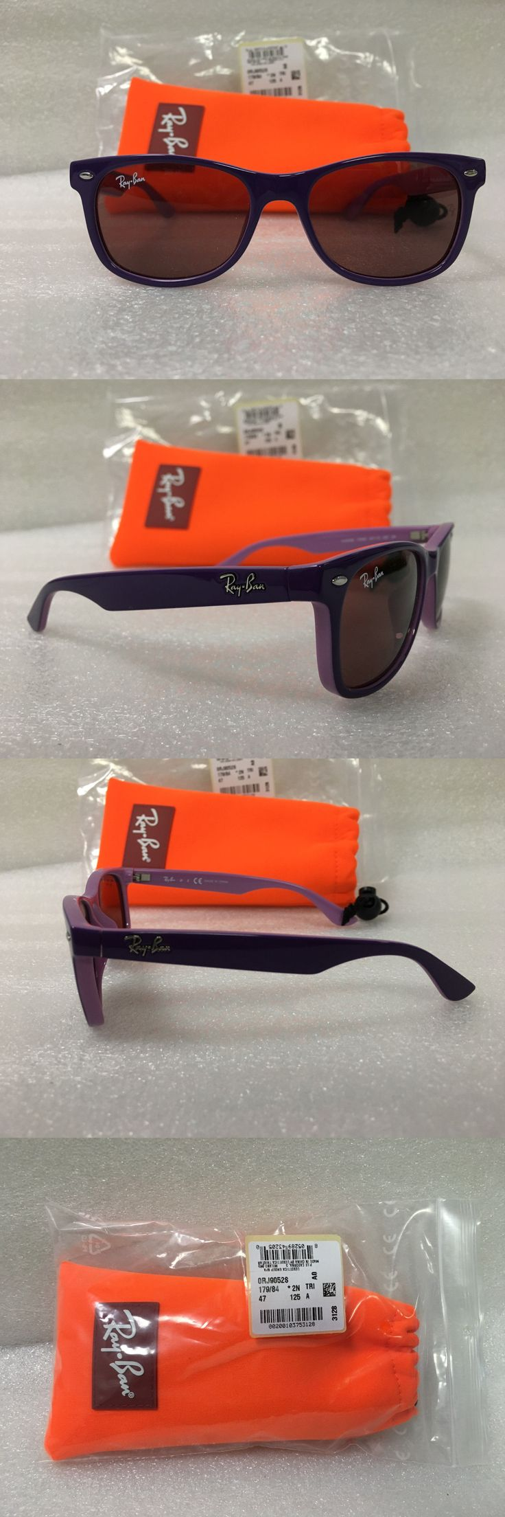 Sunglasses 122340: Ray-Ban Junior Rj9052s 47Mm 179 84 Lavander Pink Frame With Purple Lens -> BUY IT NOW ONLY: $50 on eBay!