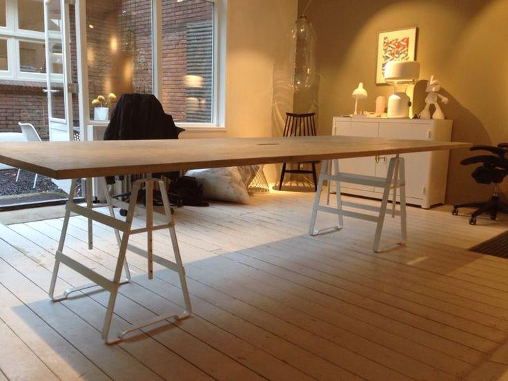 1000 idee n over betonnen tafel op pinterest doe het zelf meubelen betonnen meubilair en - Concrete effect tafel ...
