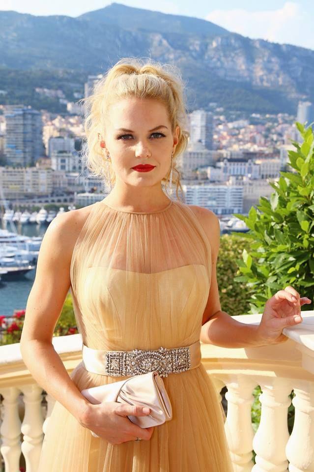Jennifer Morrison attends a cocktail reception at the Ministere d'Etat on June 9, 2014 in Monte-Carlo, Monaco.