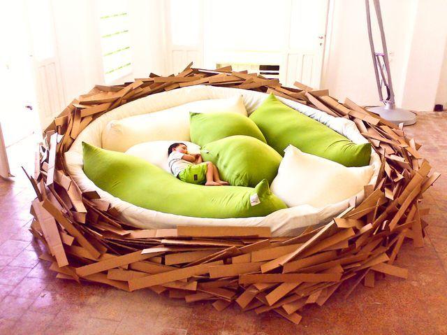 nest bed: Ideas, Aquamarines Engagement Rings, Nests Beds, Birds Nests, Birdsnest Oge, Giant Birdsnest, Oge Creativegroup, Candy Crushes Cheat, Kid
