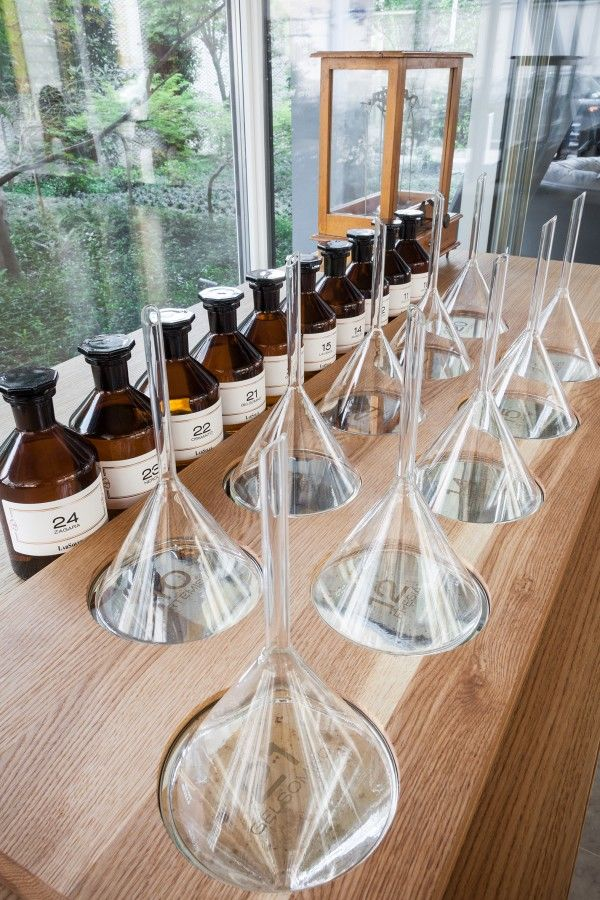 Re-imagining the science lab  Hotel Magna Pars opens a Perfume Laboratory  www.despoke.com
