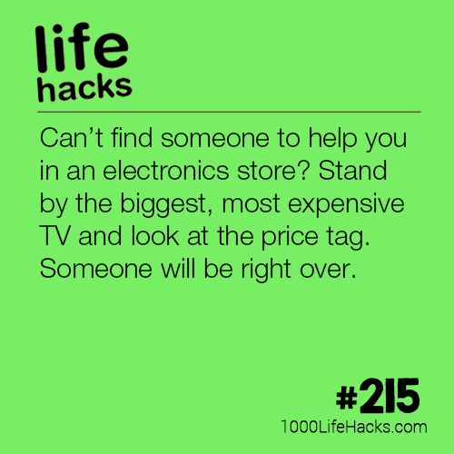 #215 – How To Instantly Get Help at an Electronics Store