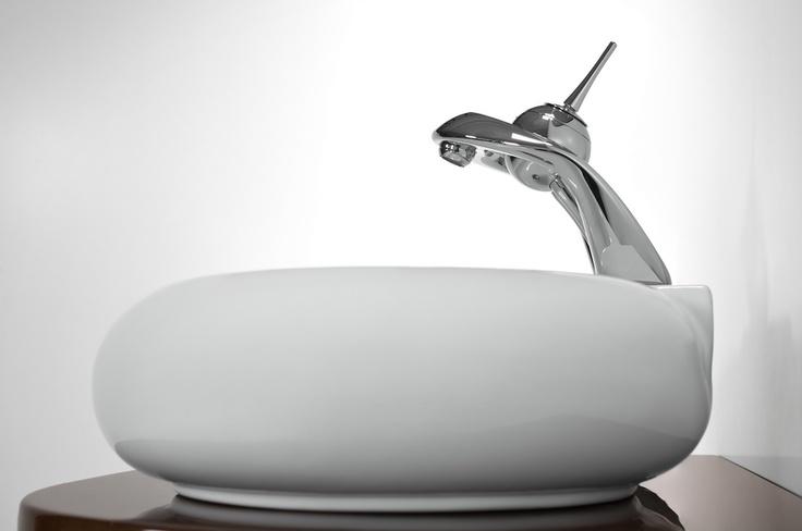 contemporary washbasin - Antado / łazienka umywalka #bathroom #washbasin #minimalist #contemporary #white #umywalka
