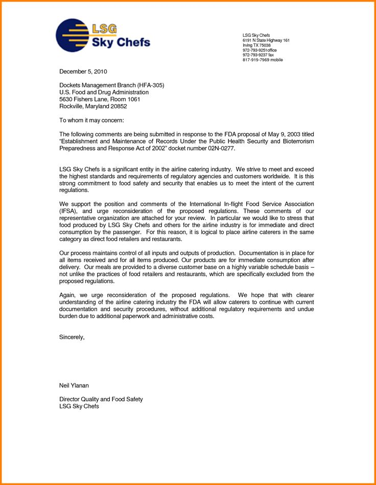 letter samples sample business proposal for partnership services - lsg sky chef sample resume
