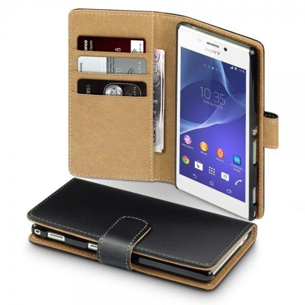 Terrapin Θήκη Πορτοφόλι (117-005-322) Μαύρο (Sony Xperia M2) - myThiki.gr - Θήκες Κινητών-Αξεσουάρ για Smartphones και Tablets - Θήκη Πορτοφόλι Μαύρο - Terrapin