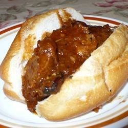 Gain new respect for your leftover pork roast . Just whip up this tangy sauce of butter, Worcestershire sauce, lemon juice, sugar and a dash of paprika and cayenne. Simmer thinly sliced pork in the sauce, and serve on hamburger buns.