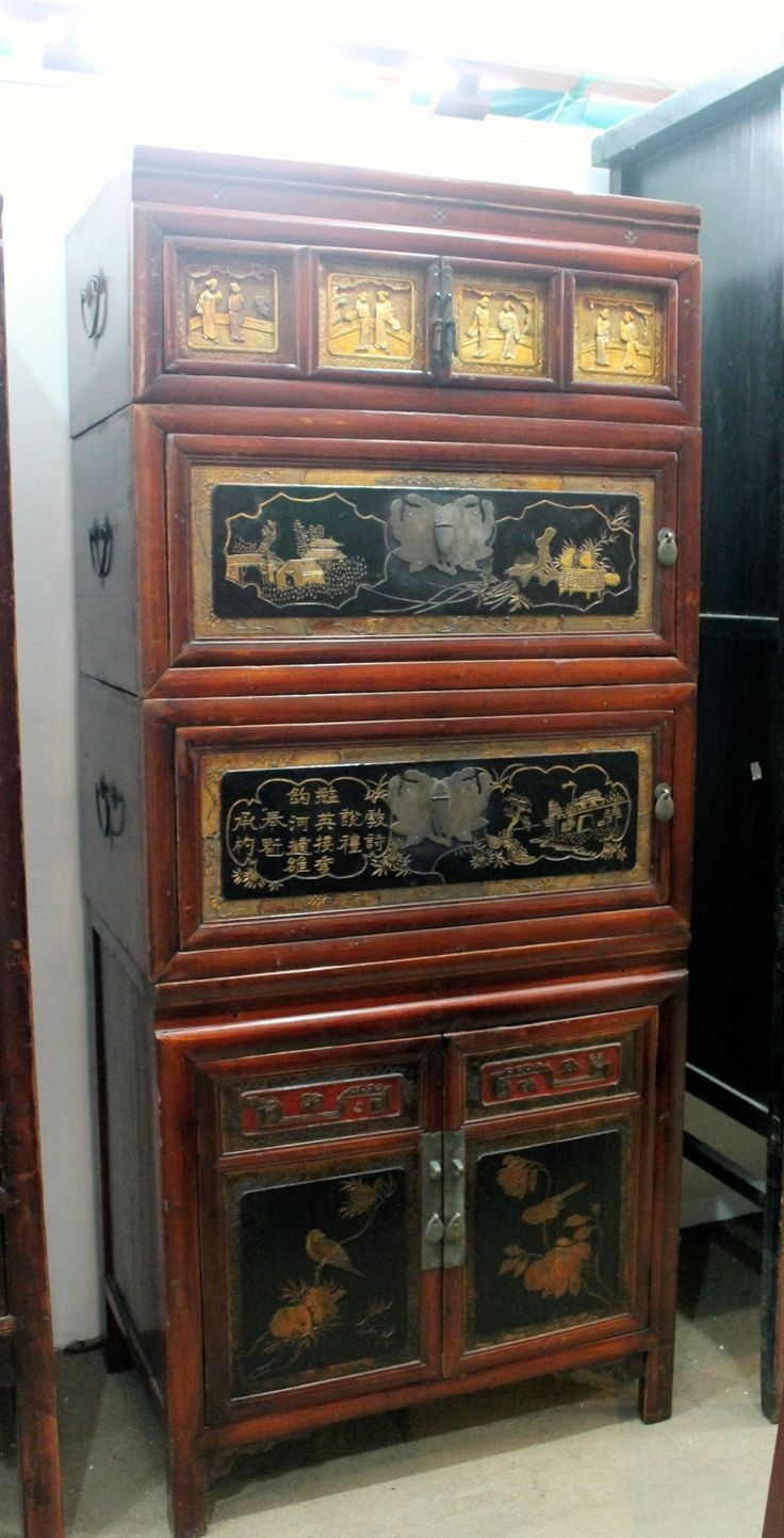 oriental furniture perth. 4-tier Cabinet From Wenzhou, Zhejiang, China. Original Colour. #ChineseAntiques · Chinese AntiquesChinese FurnitureAntique Oriental Furniture Perth