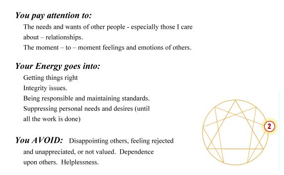 Enneagram, Enneagram Type 2 The Giver