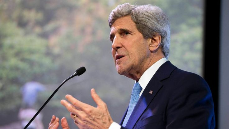 Kerry Calls Climate Change a 'Weapon of Mass Destruction'