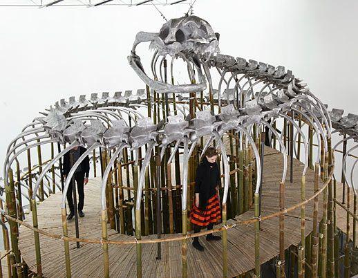 Huang Yong Ping at Gladstone Gallery