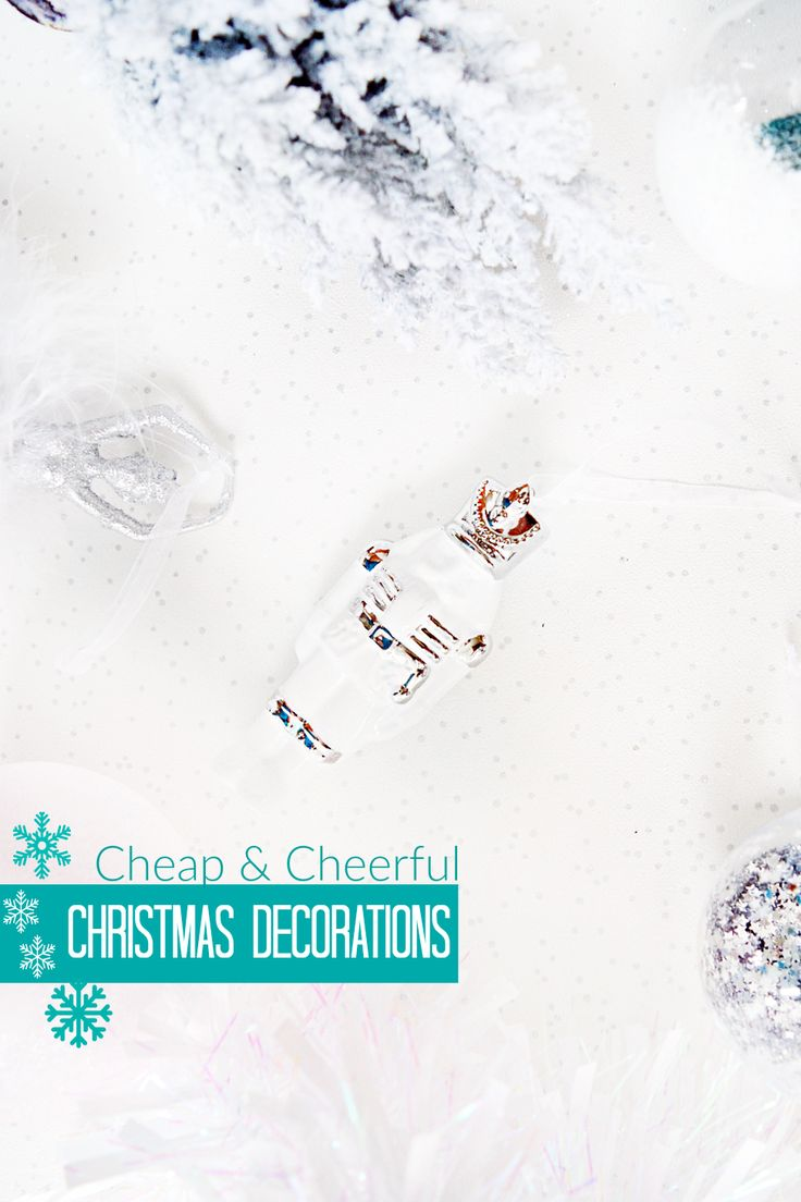 Budget friendly Christmas decoration ideas ranging from £1-£4