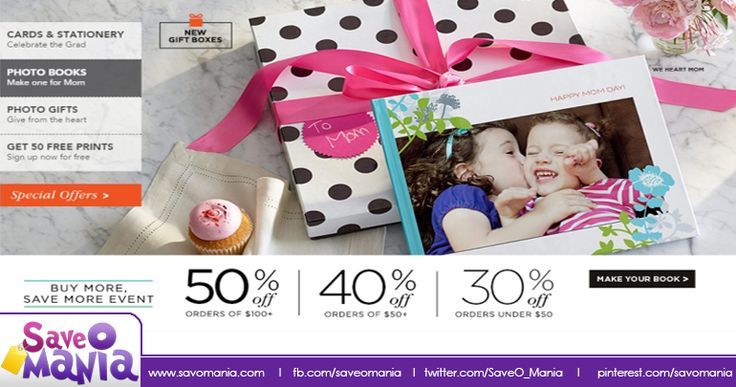 Upto 50% Off SiteWide at #Shutterfly http://saveomania.com/shutterfly-coupon-codes