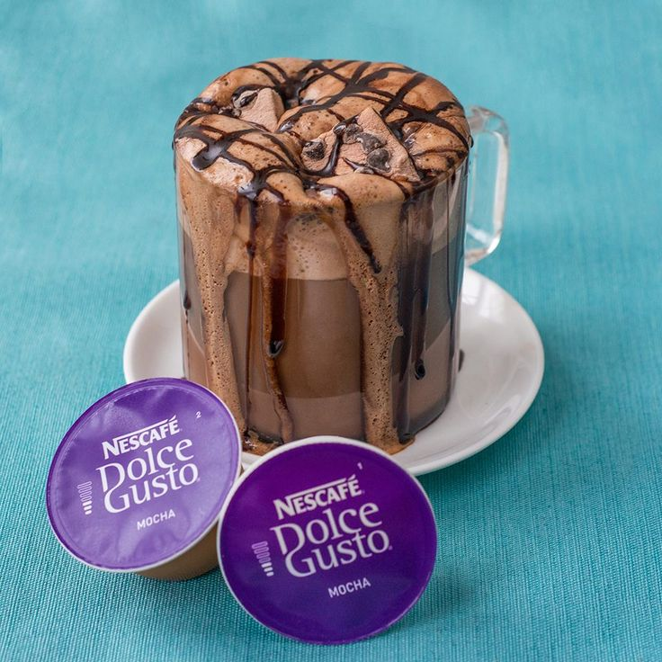 NESCAFE Dolce Gusto Mocha with Simply S'mores Plush Puffs Hand-Crafted Gourmet Marshmallows