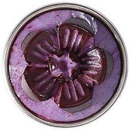 Anahata (Purple), 09-199 De waterlelie die staat voor het hartchakra. Gekregen van Viv voor mijn verjaardag