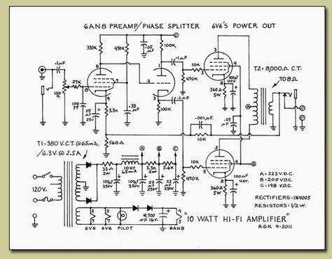 10 Watt Vacuum Tube Amplifier