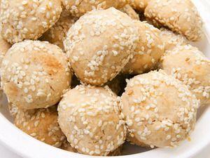 Sesame-Tahini Cookies | Serious Eats