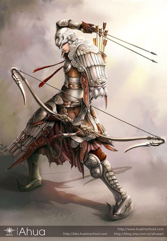 Character design - Ahua