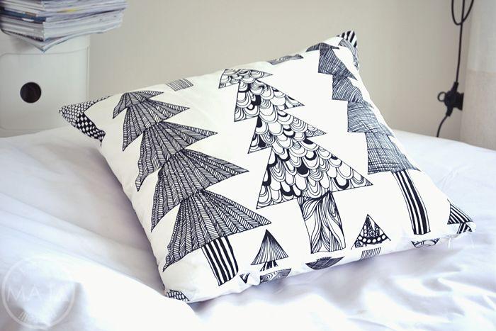 Kuusikossa -cushion by Marimekko