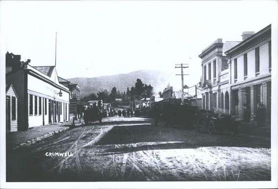1920s CROMWELL Main Street ca