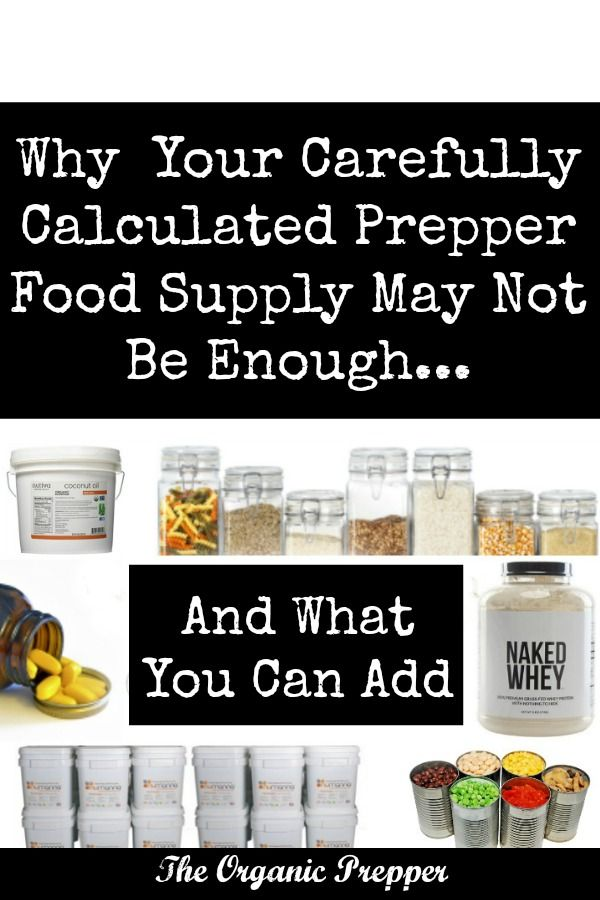Here are some clever additions you can make to your prepper food supply to help boost calories, nutrition, and variety.
