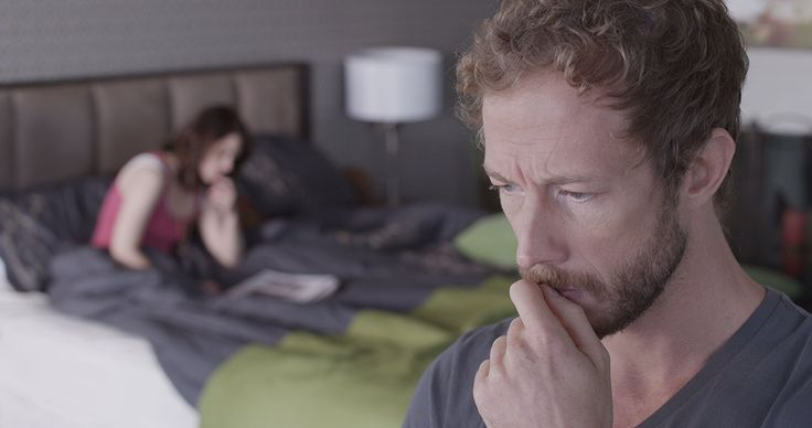 Emily Hampshire and Kris Holden-Ried as Kate and Alex Green in The Returned (2013)