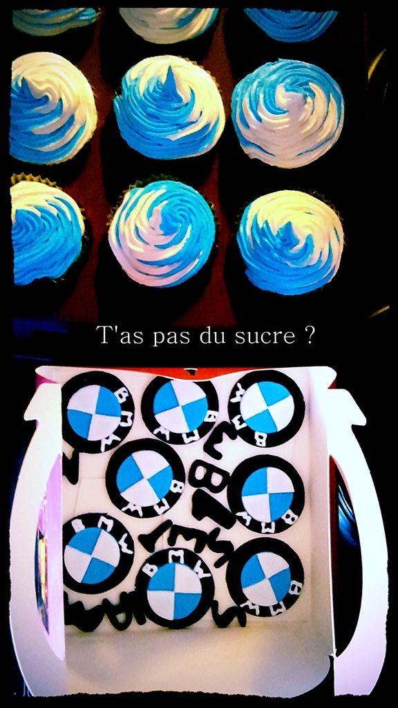 Décorations de Cupcakes BMW et Petit Ours Brun - taspasdusucre.overblog.com